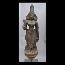 16th Century Granite Statue of the Goddess Parvati