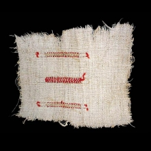a-coptic-flax-textile-fragment-with-red-dyed-woolen-embroidery_a7234a
