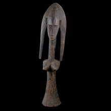 A Dogon wooden female figure