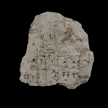 a-fragment-from-a-large-clay-tablet-with-cuneiform-inscription---m_x8637qb