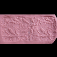 a-neo-assyrian-breccia-marble-cylinder-seal_x8770c
