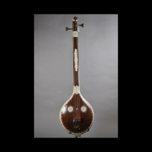 a-north-indian-ivory-inlaid-lute,-tambura_x5816a