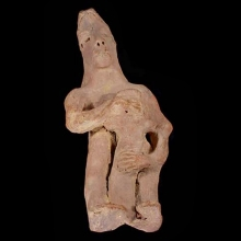 an-ancient-sub-saharan-terracotta-figure-of-a-woman-with-an-infant-at-her-breast_x1703b