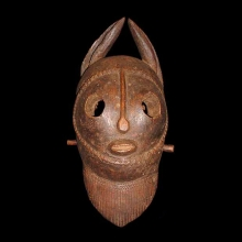 An old Dogon mask.