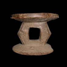 An old Mangbetu stool