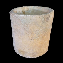Bactrian alabaster vessel