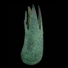 Bactrian bronze claw mace head