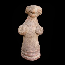 Bajur valley pottery figurine of a mother goddess