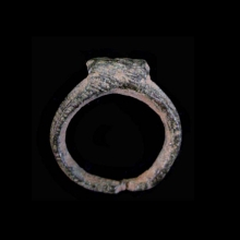 Byzantine bronze diminutive ring