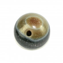 Sulemani agate prayer eye bead.