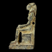 egyptian-green-schist-amulet-of-lioness-goddess-sekhmet_a7408c