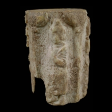 gandharan-bone-bead-depicting-a-seated-buddha-flanked-by-attendantsc