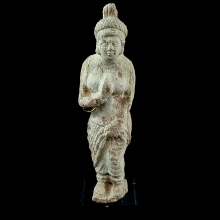 Gandharan bone figurine of the goddess Quan yin