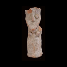 Indus Valley clay figure of a female deity