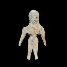 Indus Valley clay figurine of a god.