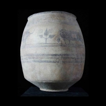 indus-valley-clay-vessel-with-bull-design_xx123a
