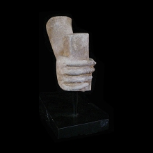khmer-sandstone-statue-portion-hand-clenching_x5520b