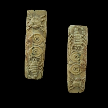 kushan-bone-bead-with-owls-scorpion-spider-and-cockerel-motifs_x8864b
