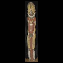 Large Abelam spirit figure from a men's house