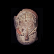 Mehrgarh clay head of goddess