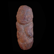 An archaic Dogon stone fetish figure.