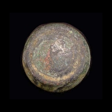 Roman to Byzantine bronze weight.