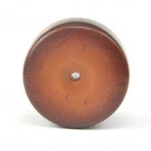 An Egyptian Bedouin round copal bead
