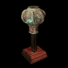 Luristan bronze mace head.