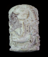 Large Indus Valley limestone cylinder seal