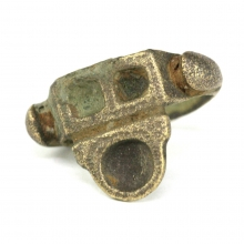 A Gandharan bronze ring depicting a Stupa