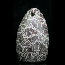 A Bactrian egg shaped stone weight.