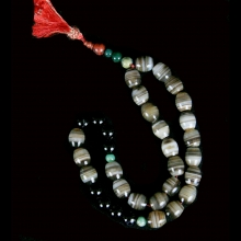A Tasbih prayer bead strand