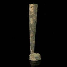 Luristan bronze votive ornament in the shape of leg