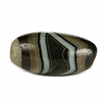 Sulemani agate prayer bead.