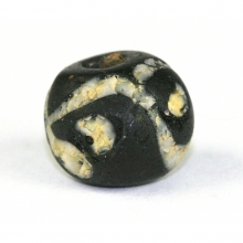 A Russian glass eye bead