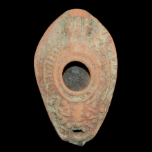Byzantine pottery oil-lamp