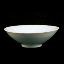 Qing dynasty celadon glazed bowl