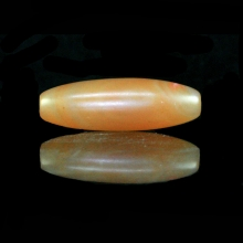 A large agate barrel shape bead