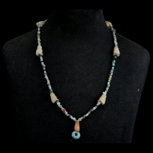 A necklace comprising ancient Han and Mongolian beads