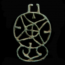Bactrian bronze stamp seal,