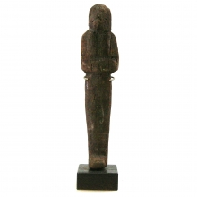 17th Dynasty Wooden Ushabti