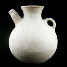 An Anatolian zoomorphic spouted pottery vessel