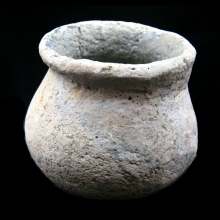 Chinese Xia Dynasty pottery vessel.