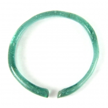 Roman green glass bracelet